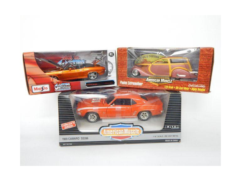 Large Die-Cast Car Models
