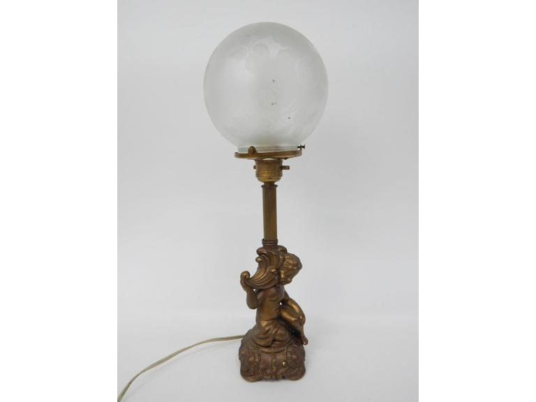 `Ornate Table lamp