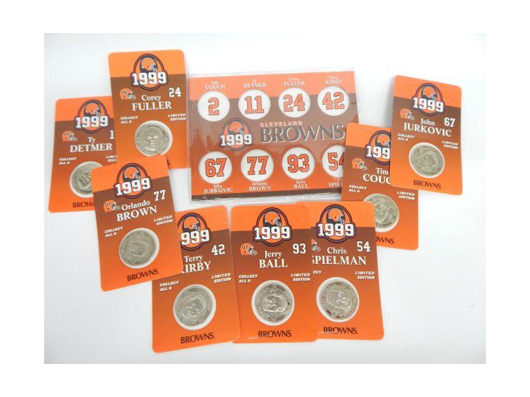 Cleveland Browns Tokens
