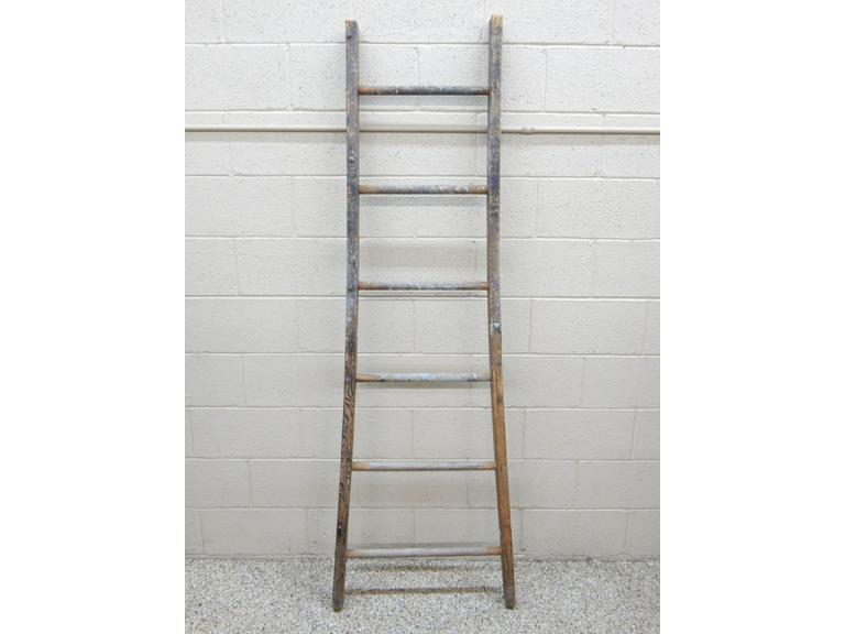 Tall Wood Ladder Section