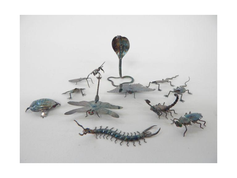 Metal Art Insect & Reptiles
