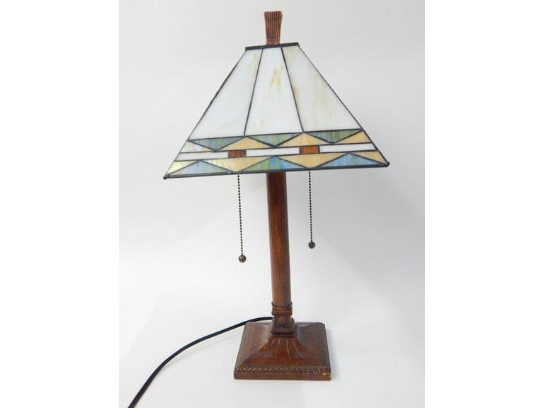 Retro Stained Glass Lamp