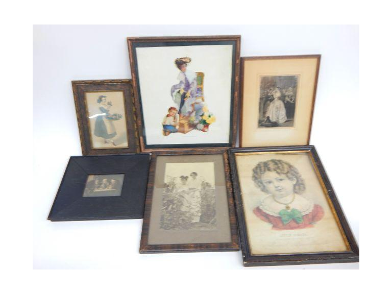 Antique Framed Images