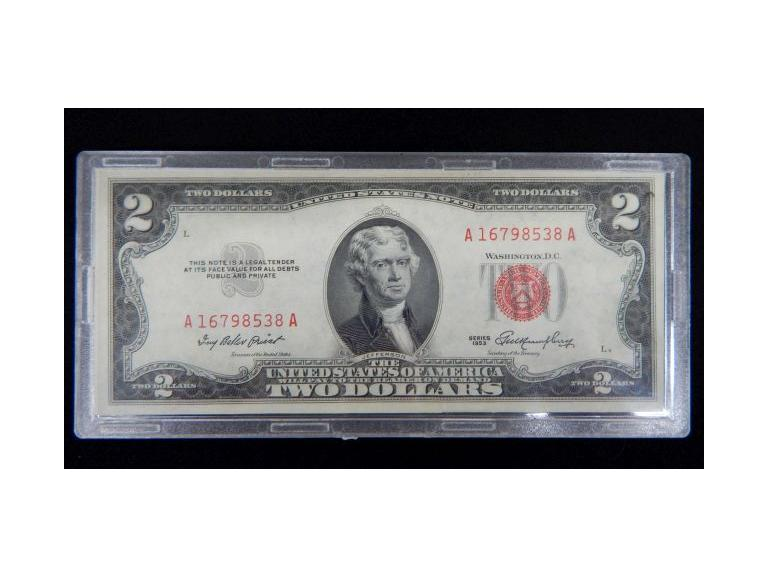 1953 Two Dollar Bill