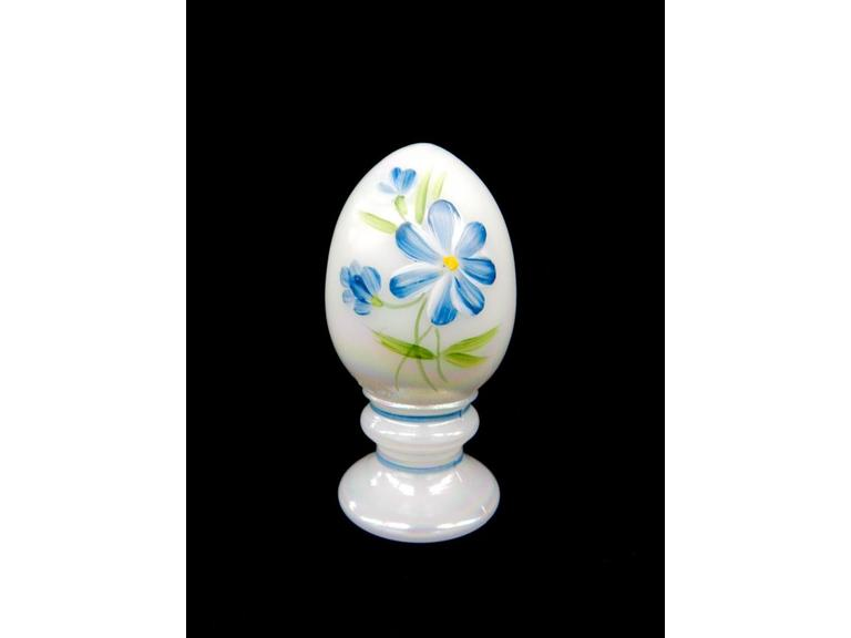 Fenton Painted Egg