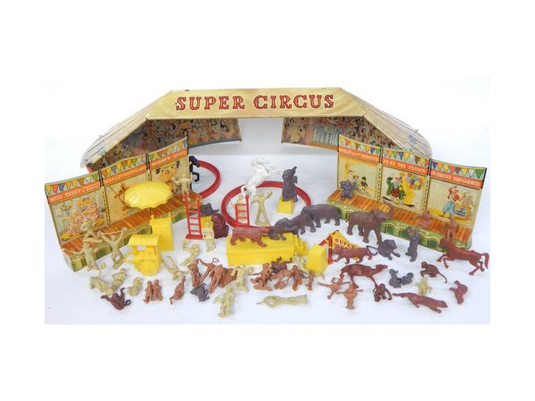Marx Super Circus Set