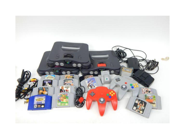 Nintendo 64 Game Systems