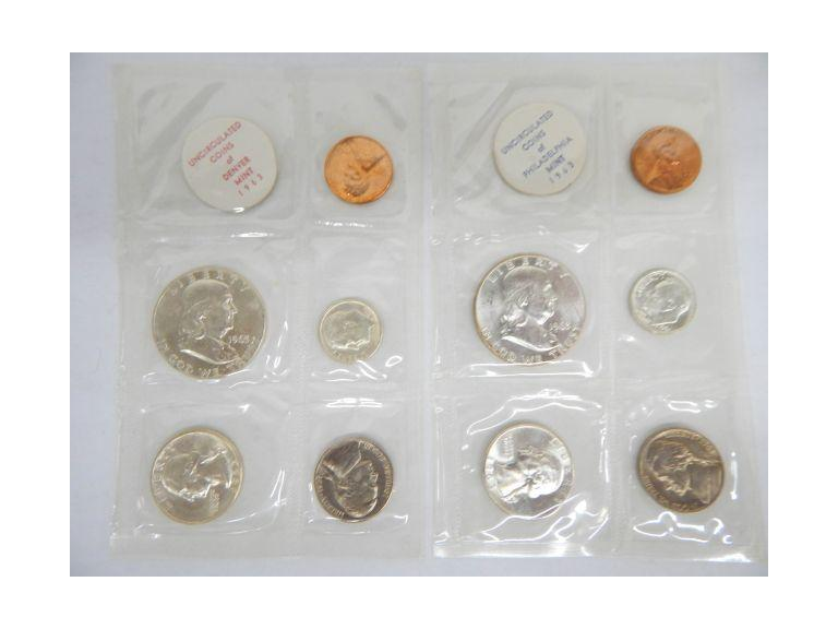 1963 Mint Coin Sets
