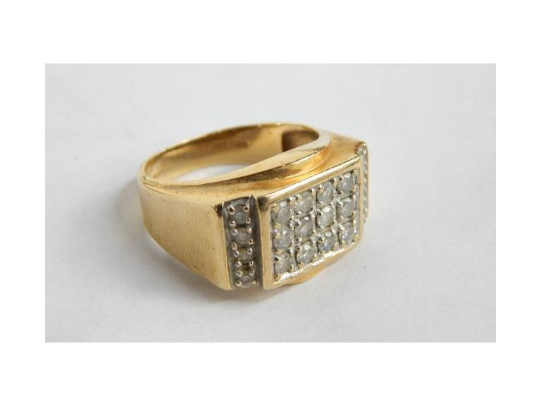 10kt Gold Men's Ring
