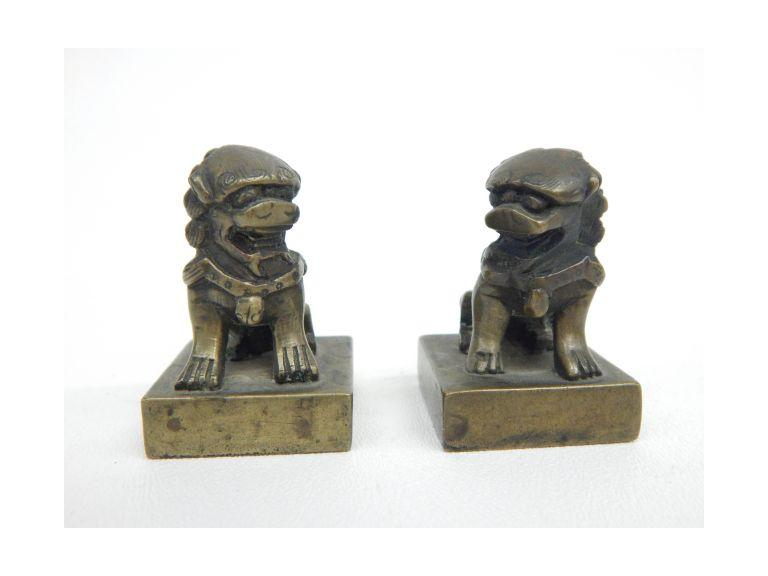 Foo Dog Wax Stamps