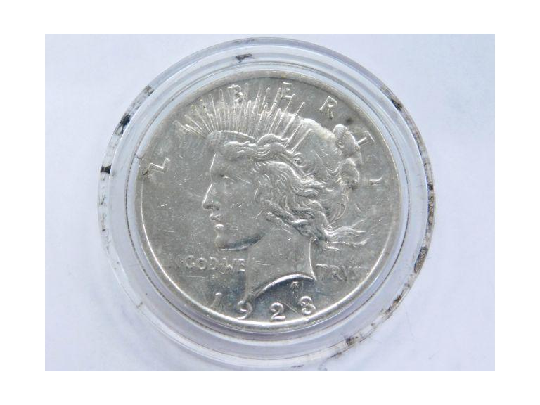 1923 Peace Dollar Coin