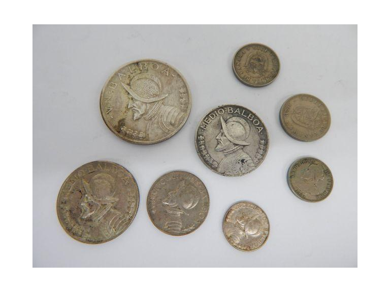Panama Silver Coins