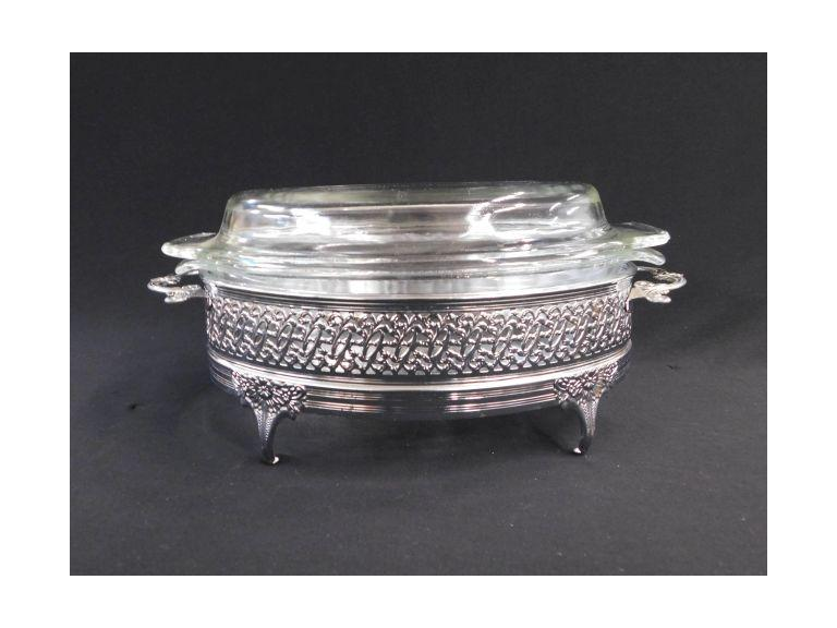 FireKing 1.5qt Fancy Serving Dish