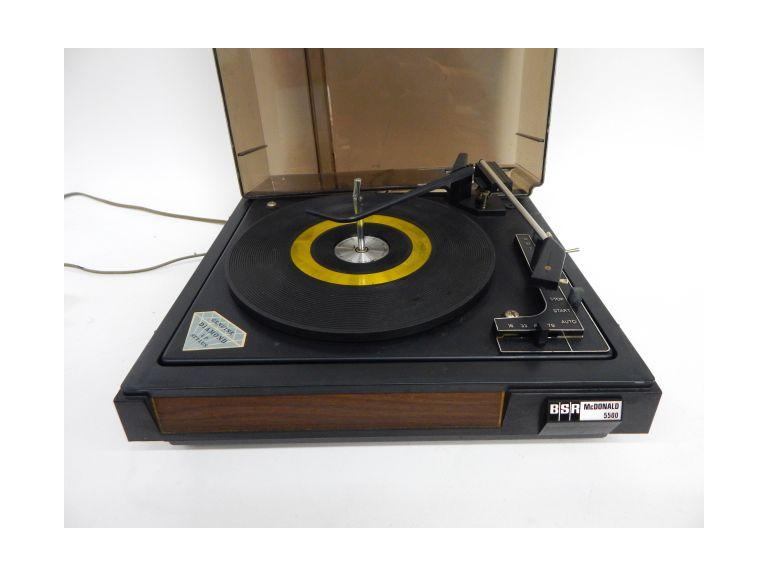 BSR Automatic Turntable