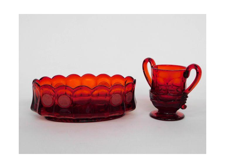 Ruby Red Fostoria Glass