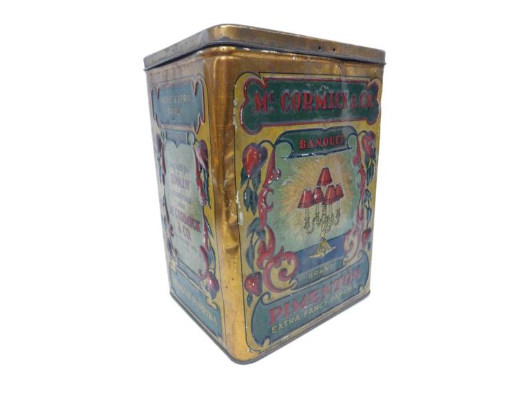 Vintage Advertising Tin