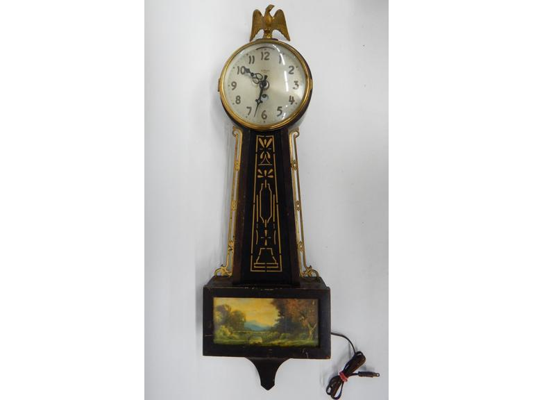 Gilbert Banjo Wall Clock