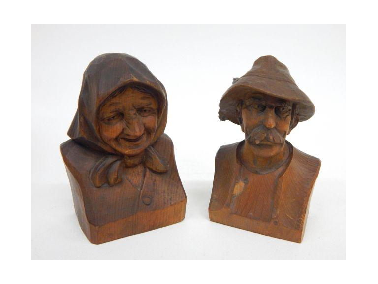 Hand Carved Figures