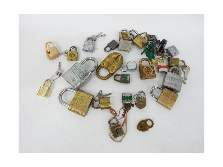 Collection of Pad Locks