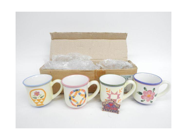 Jim Shore Mug Set