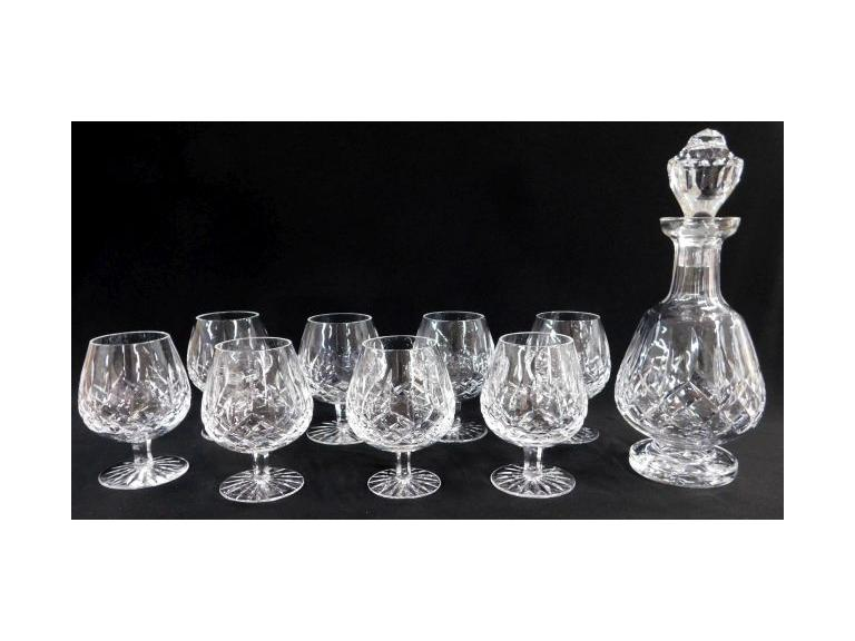 Waterford Crystal Brandy Set