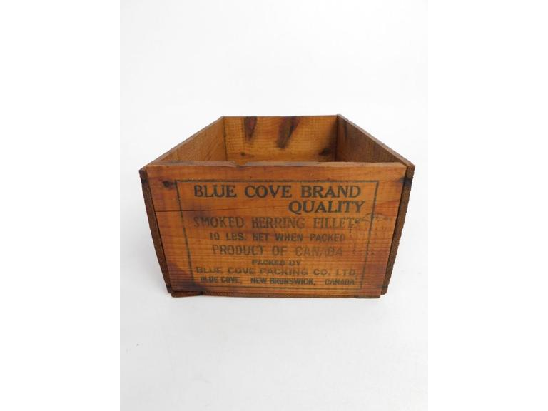 Blue Cove Smoke Herring Fillets Shipping Crate