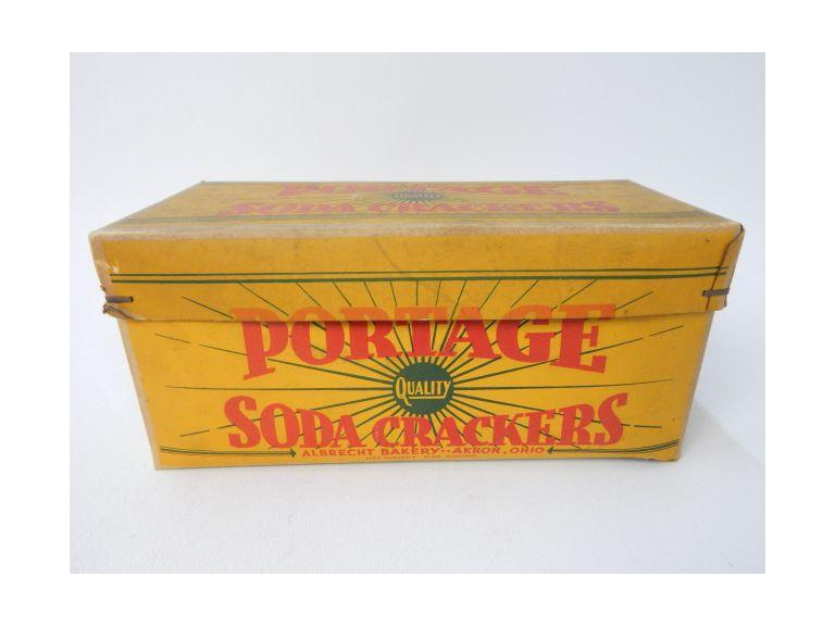 Portage Soda Cracker Box