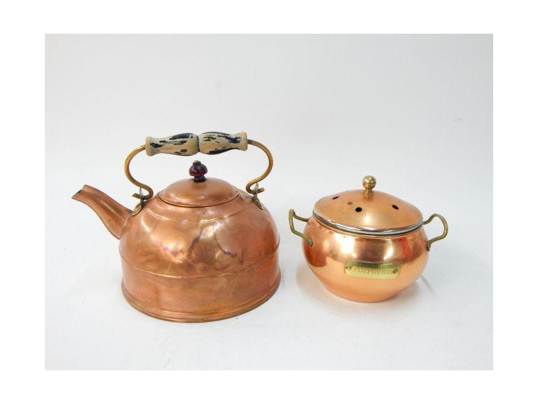 Copper potpourri and Water Pots