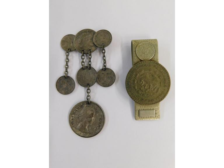 Vintage Foreign Coin Jewelry