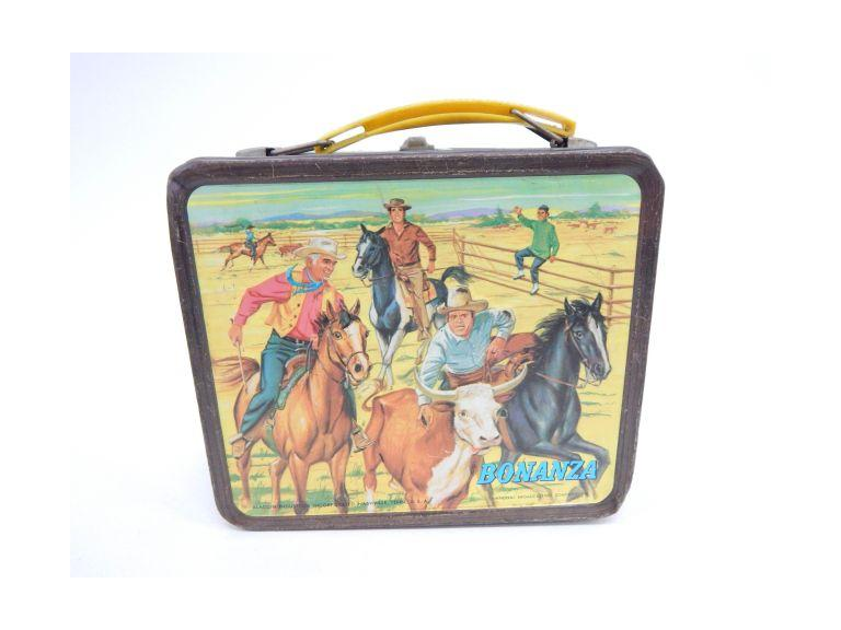 Bonanza Metal Lunchbox