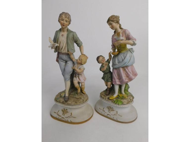 Very Large Vintages Lenwile China Ardalt Japan Figurines