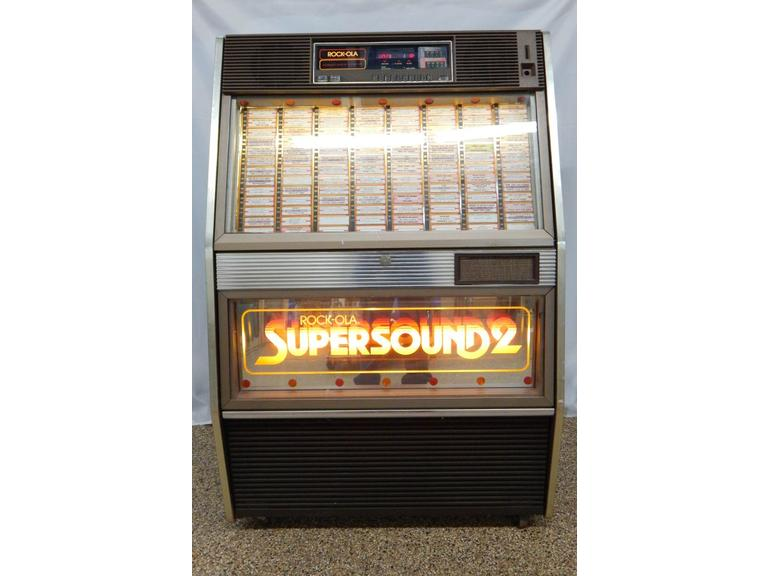 Rock-Ola Super Sound Juke Box