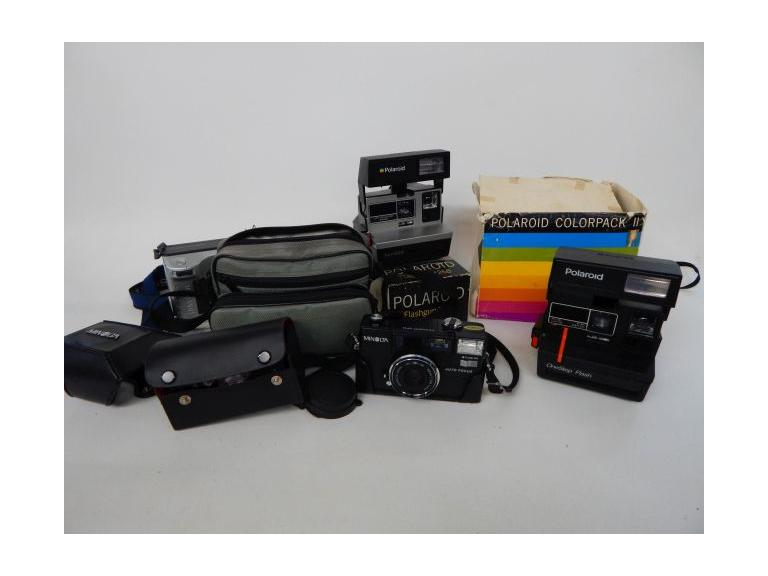 Camera And Accessories Lot
