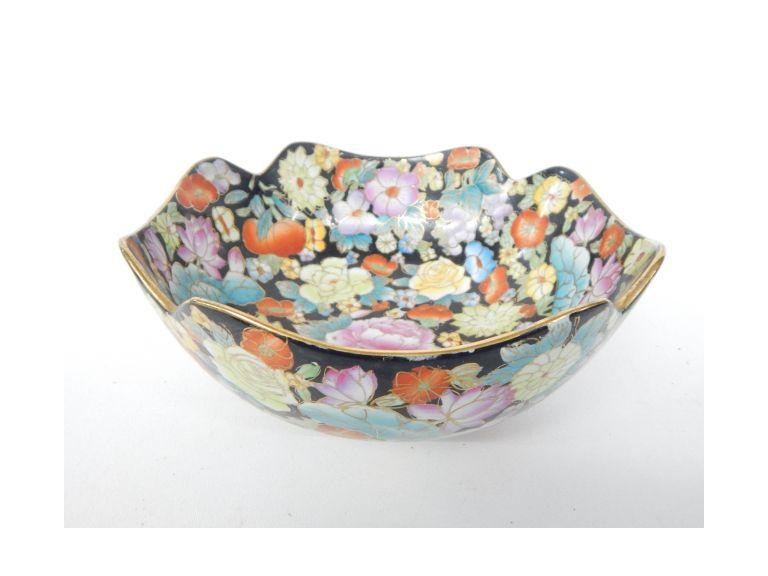 Hand Painted Oriental Bowl