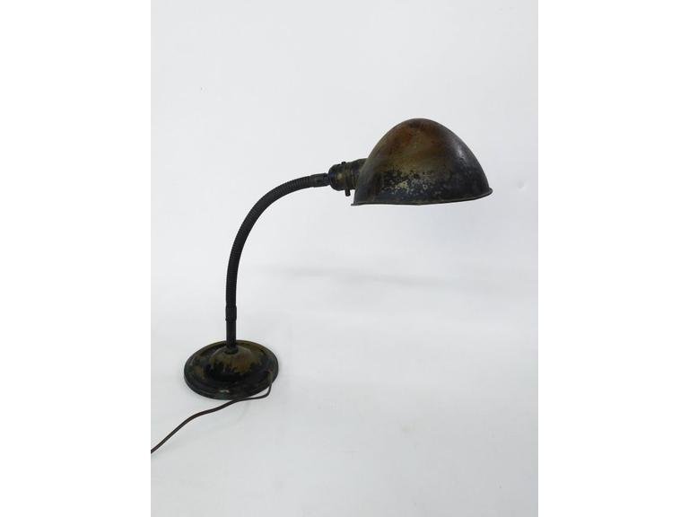 Cast Iron base Gooseneck Lamp