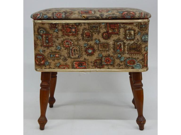 Vintage Sewing Stool