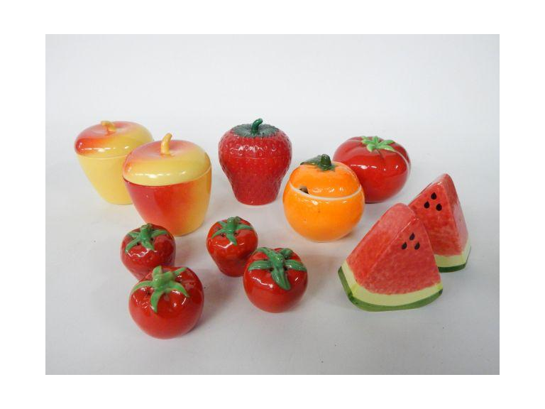 Fruit Themed S7P's and Sugar Bowls