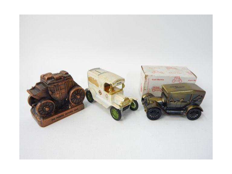 Collectible Die-Cast Coin Banks
