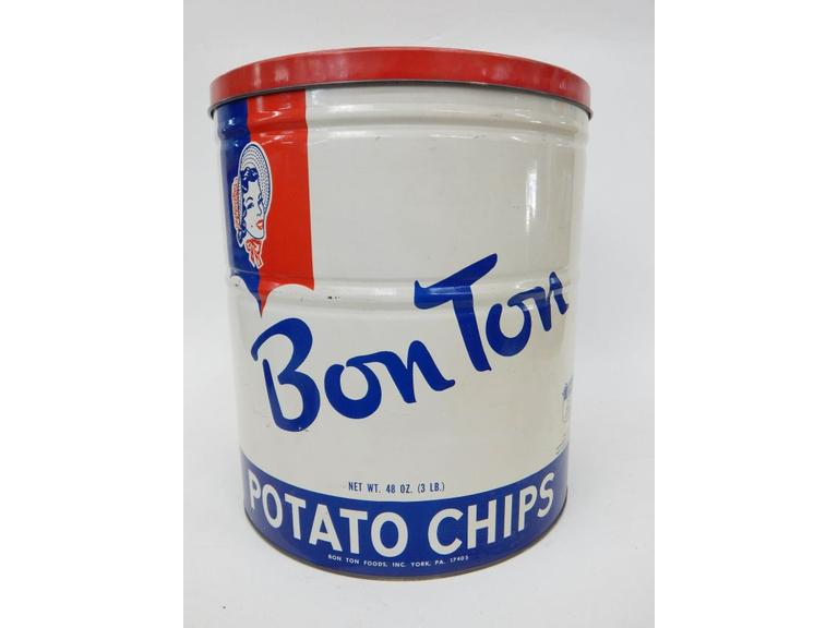 Large Size Potato Chip Tin