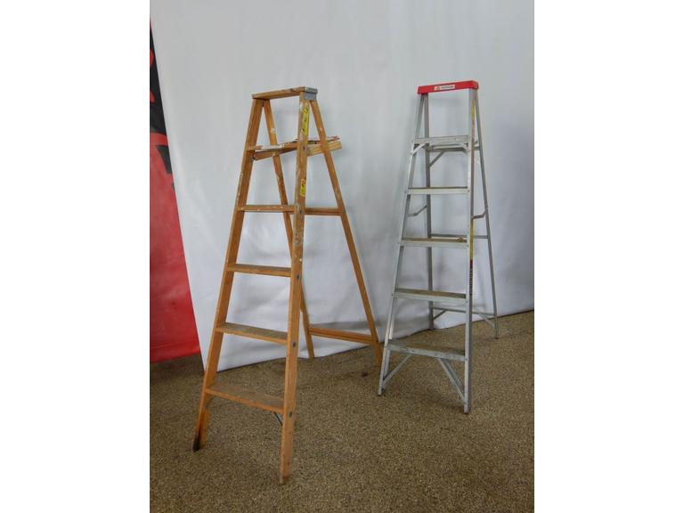 7 Foot Step Ladders