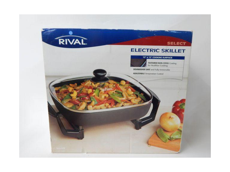 New Rival Electric Skillet