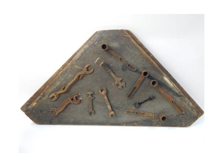Antique Tool Display Board