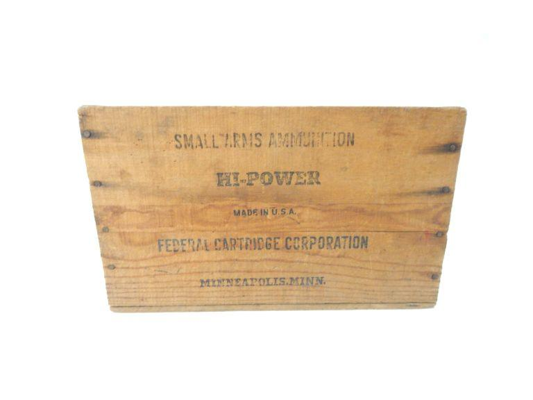 Small Arms Ammunition Box