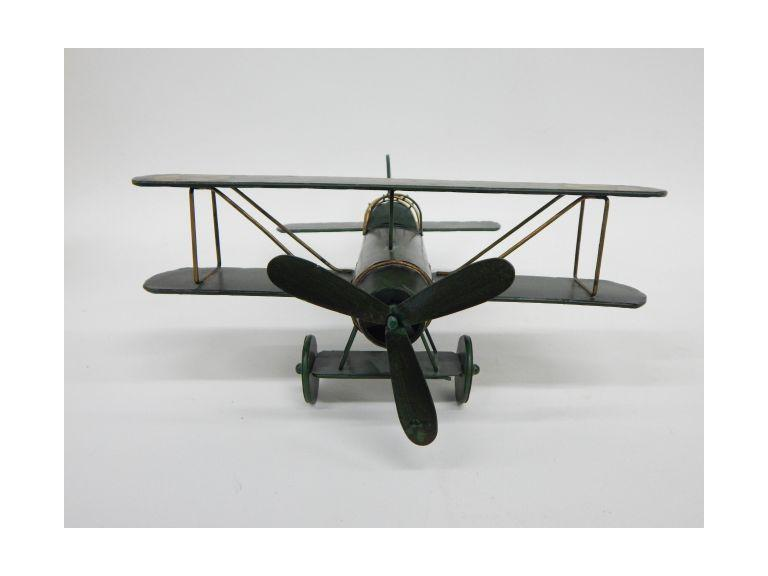 Tin Metal Model Airplane