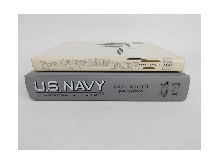 1960 Kent State University Yearbook & Navy Book