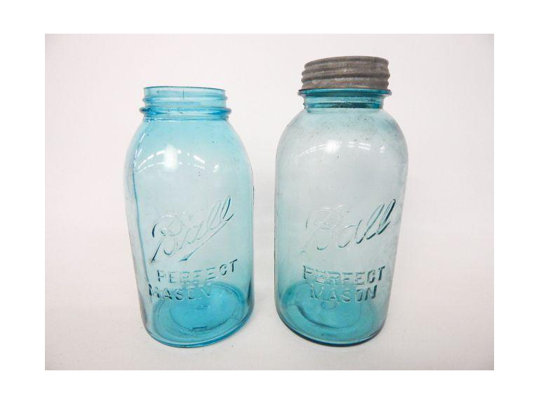 Half Gallon Ball Blue Jars