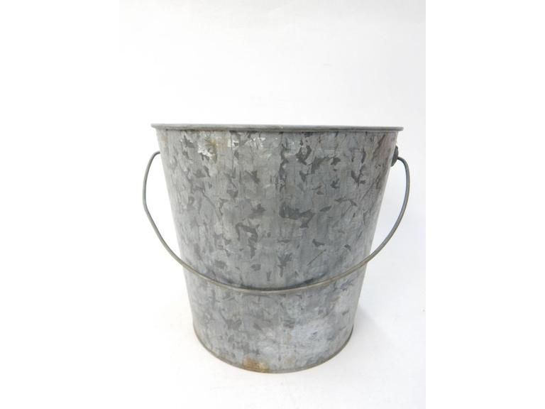 Old Galvanized Steel Pale