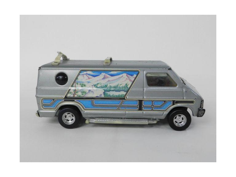Ertl Pressed Steel Toy Van