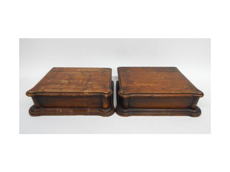 Antique Glove Boxes