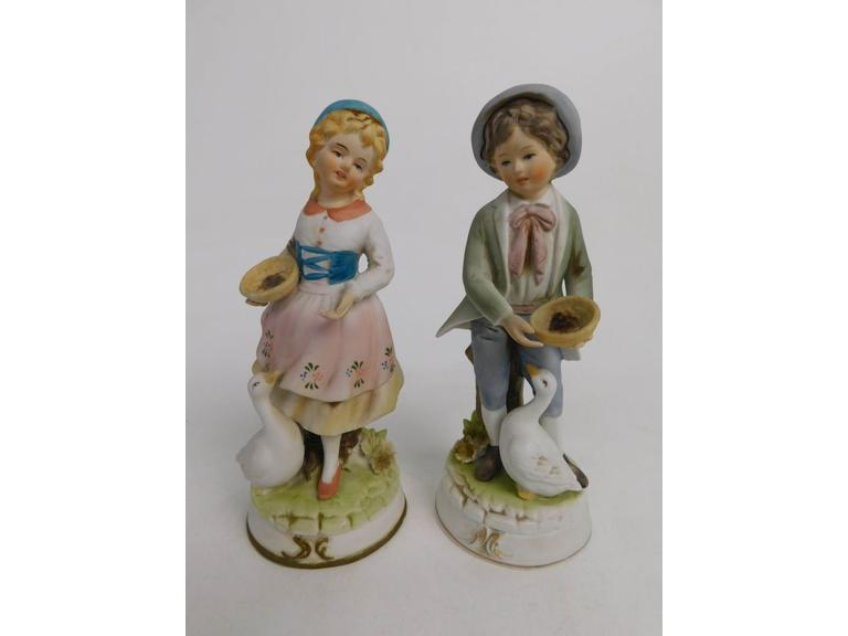 Vintage Lenwile China Ardalt Japan Figurines